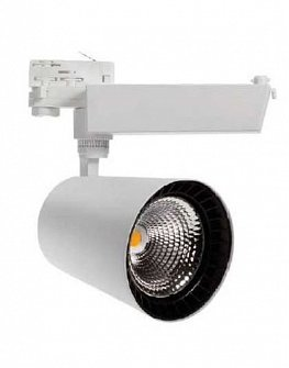 LED TRACK LIGHT LIWI 1220 (BLACK, WHITE, OR FOR AN EXTRA CHARGE ANY RAL SHADE) 40W