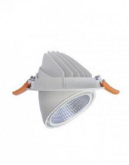 LED downlight VEWI 1020 (white, silver, black) 43W